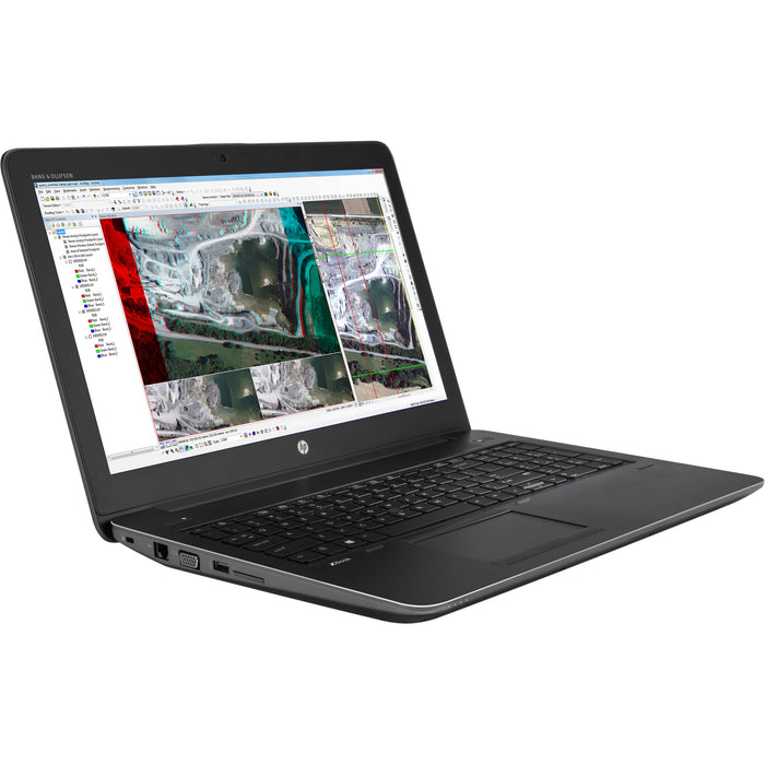 "HP ZBook 15 G3 Mobile Workstation (4TK14UT#ABA )15.6"" 4K UHD Laptop with Intel Quad Core Xeon E3-1505M v5 / 16GB / 256GB SSD / Win 10 Pro / 4GB Video"