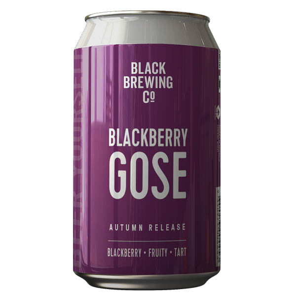 Black Brewing Co Autumn Release Blackberry Gose