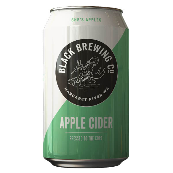 Black Brewing Co Apple Cider