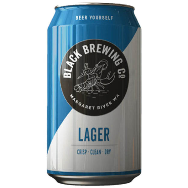 Black Brewing Co Lager Beer