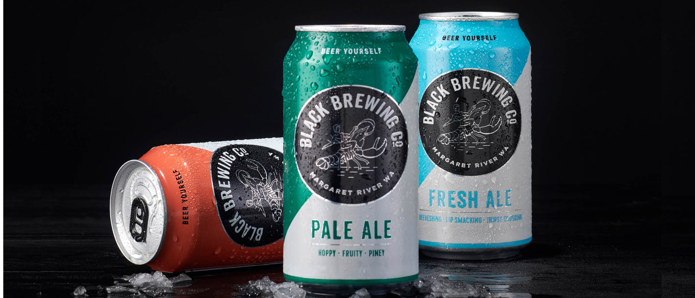 Black Brewing Co Western Australian Craft Beer range