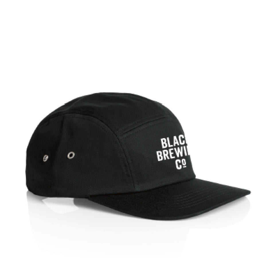 Black Brewing Co 5 Panel Cap W