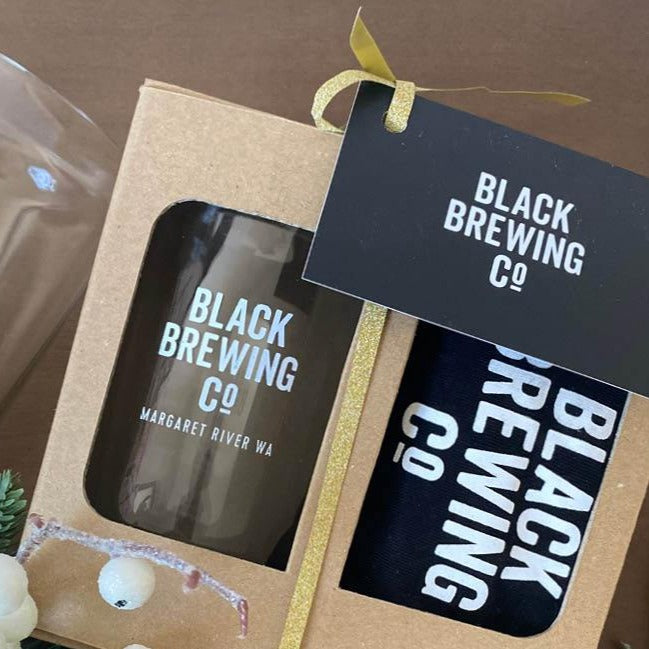 Beer Can Glass + Tee Gift Box