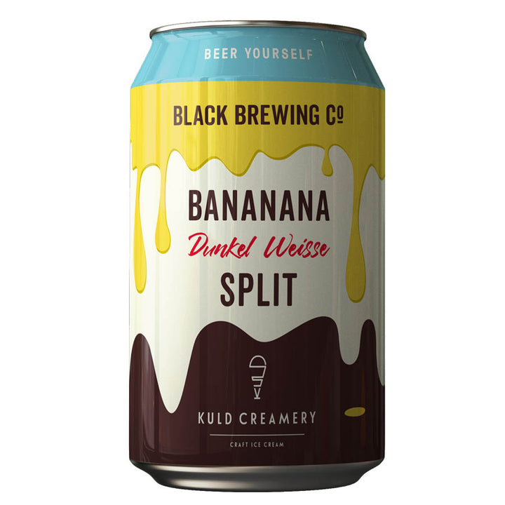 Black Brewing Co Bananana Split Dunkel Weisse - LIMITED EDITION 8 PACK