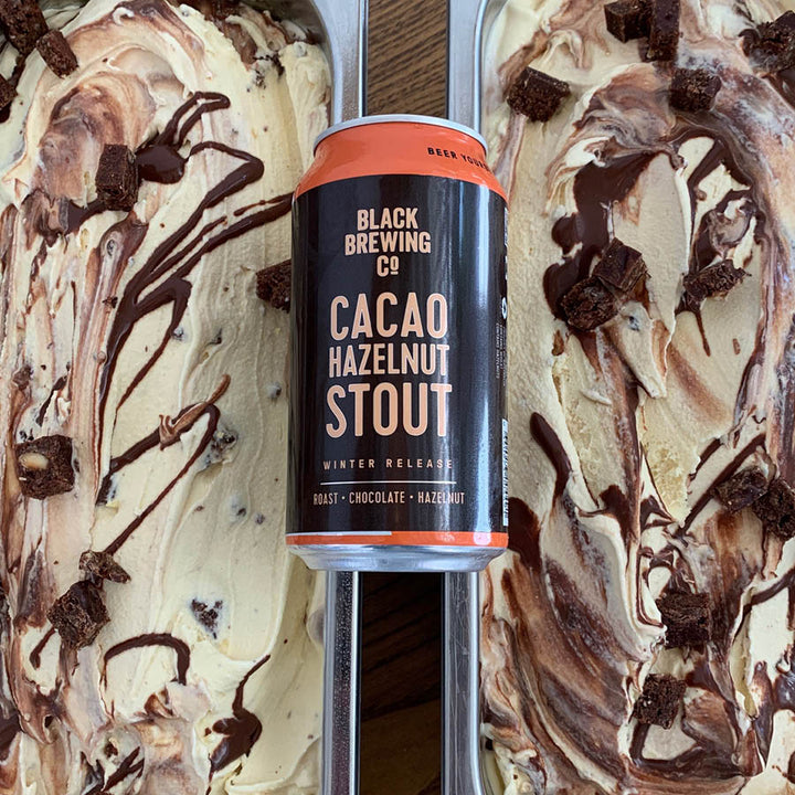 Icecream, Chocolate and Stout beer pack