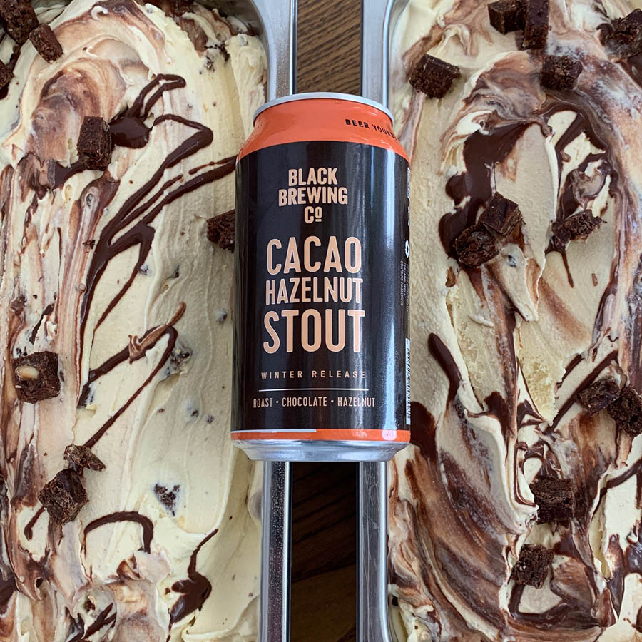 Icecream and Stout beer pack
