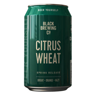 Black Brewing Co Citrus Wheat Beer