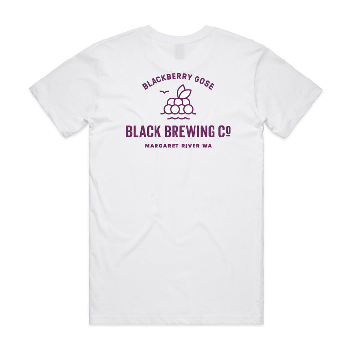 Blackberry Gose T-Shirt - White