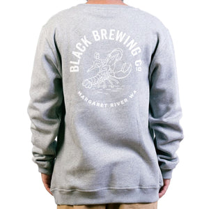 Black Brewing Co Beer Yourself Crew Jumper