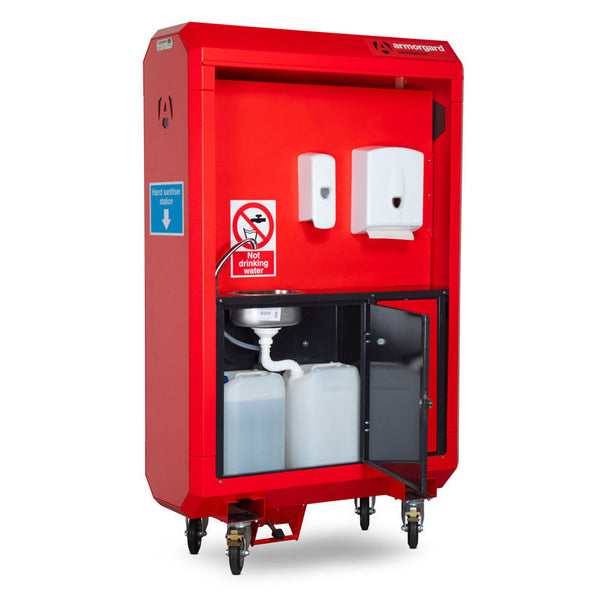 SaniStation Pro SP140 Mobile Hand Wash & Sanitising Station