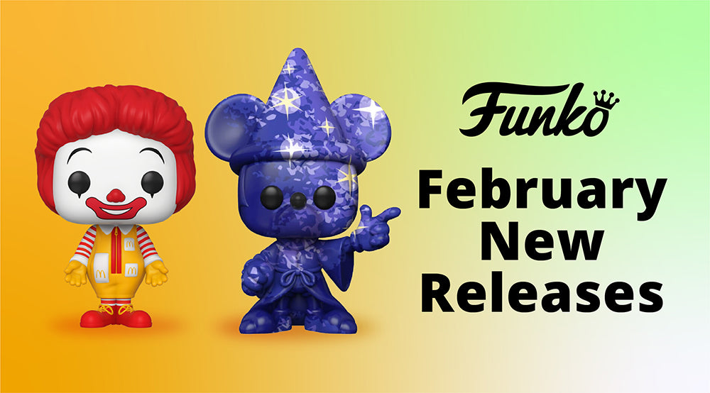 [NEW FUNKO RELEASES] on 23 Feb 2021