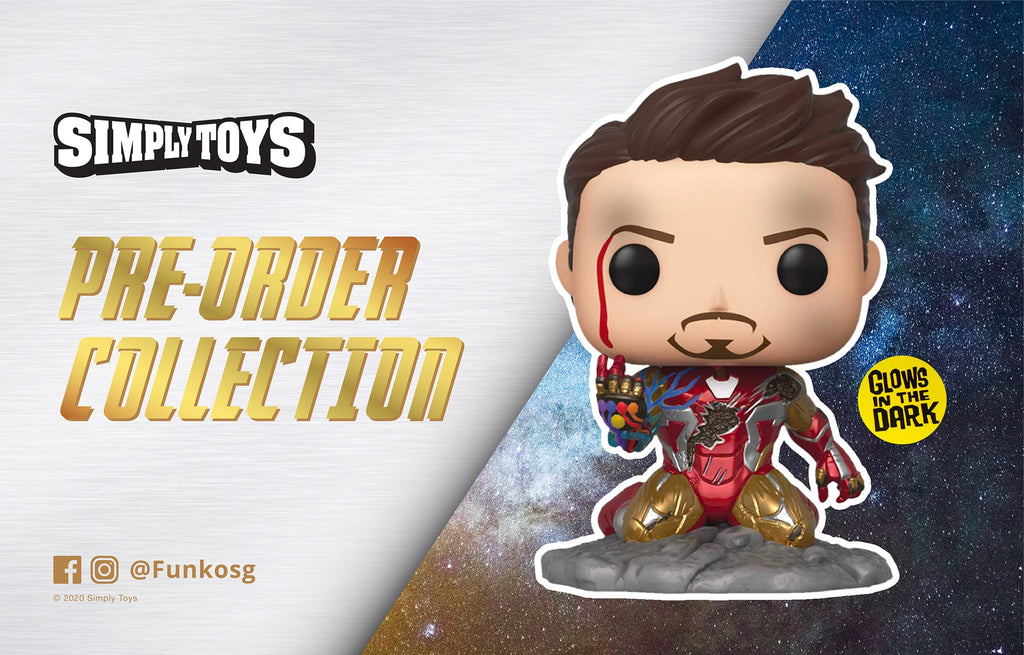 [Pre-order Collection - Batch 1] Funko Pop! - I Am Iron Man