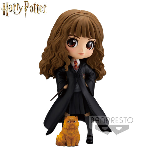 Banpresto Harry Potter Q Posket - Hermione Granger with Crookshanks