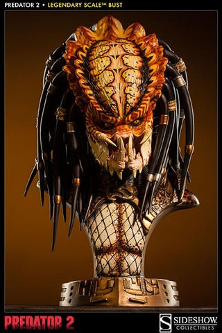 Sideshow Collectibles - Legendary Scale Bust - Predator 2