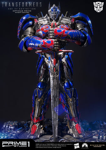 Prime 1 Studios - Transformers - Museum Masterline Age of Extinction Optimus Prime Knight Edition