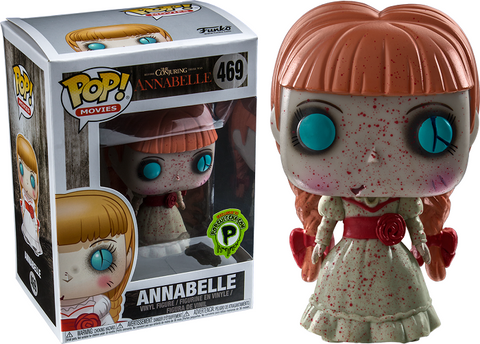 Funko Pop! Movies - The Conjuring #469 - Annabelle (Bloody) (Exclusive) - Simply Toys