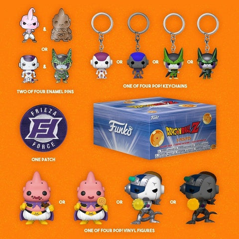 Funko Animation – Dragon Ball Z – Villains Exclusive Collector Box
