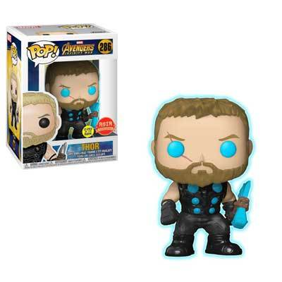 Funko Pop! MARVEL - Avengers: Infinity War #286 - Thor (Glow in the Dark) (Exclusive) - Simply Toys