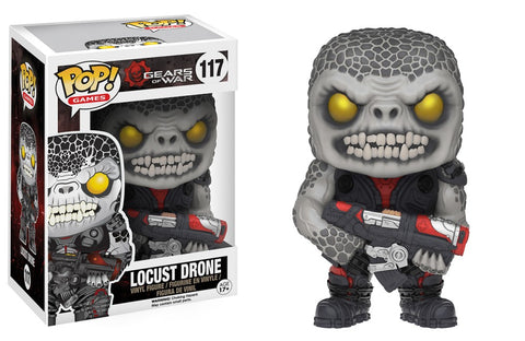 Funko Pop! Games - Gears of War #117 - Locust Drone - Simply Toys