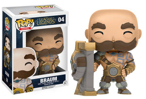 Funko Pop! Games - League of Legends #04 - Braum - Simply Toys