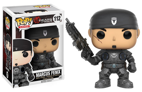 Funko Pop! Games - Gears of War #112 - Marcus Fenix - Simply Toys