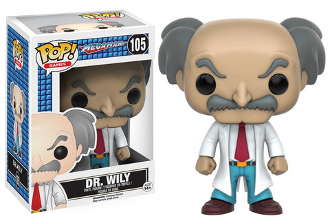 Funko Pop! Games - Megaman #105 - Dr. Wily - Simply Toys