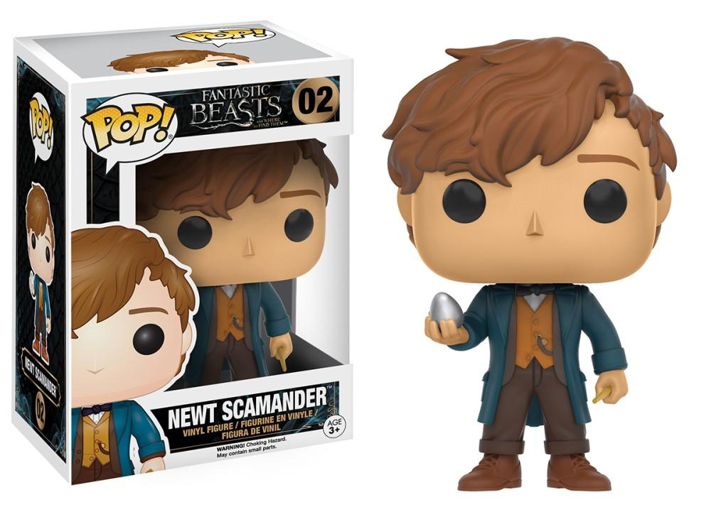 Funko Pop! Movies - Fantastic Beasts and Where to Find Them #02 - Newt Scamander (with Egg) - Simply Toys