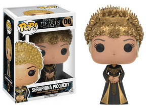 Funko Pop! Movies - Fantastic Beasts and Where to Find Them #06 - Seraphina Picquery - Simply Toys