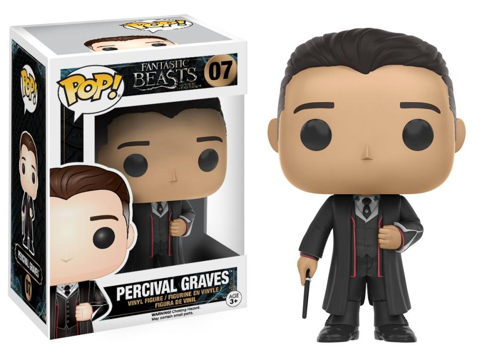 Funko Pop! Movies - Fantastic Beasts and Where to Find Them #07 - Percival Graves - Simply Toys