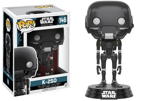 Funko Pop! Movies - Rogue One: A Star Wars Story #146 - K-2SO - Simply Toys