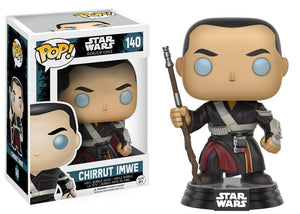Funko Pop! Movies - Rogue One: A Star Wars Story #140 - Chirrut Imwe - Simply Toys