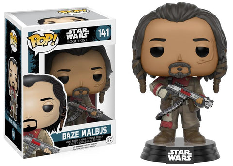 Funko Pop! Movies - Rogue One: A Star Wars Story #141 - Baze Malbus - Simply Toys