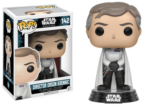 Funko Pop! Movies - Rogue One: A Star Wars Story #142 - Director Orson Krennic - Simply Toys