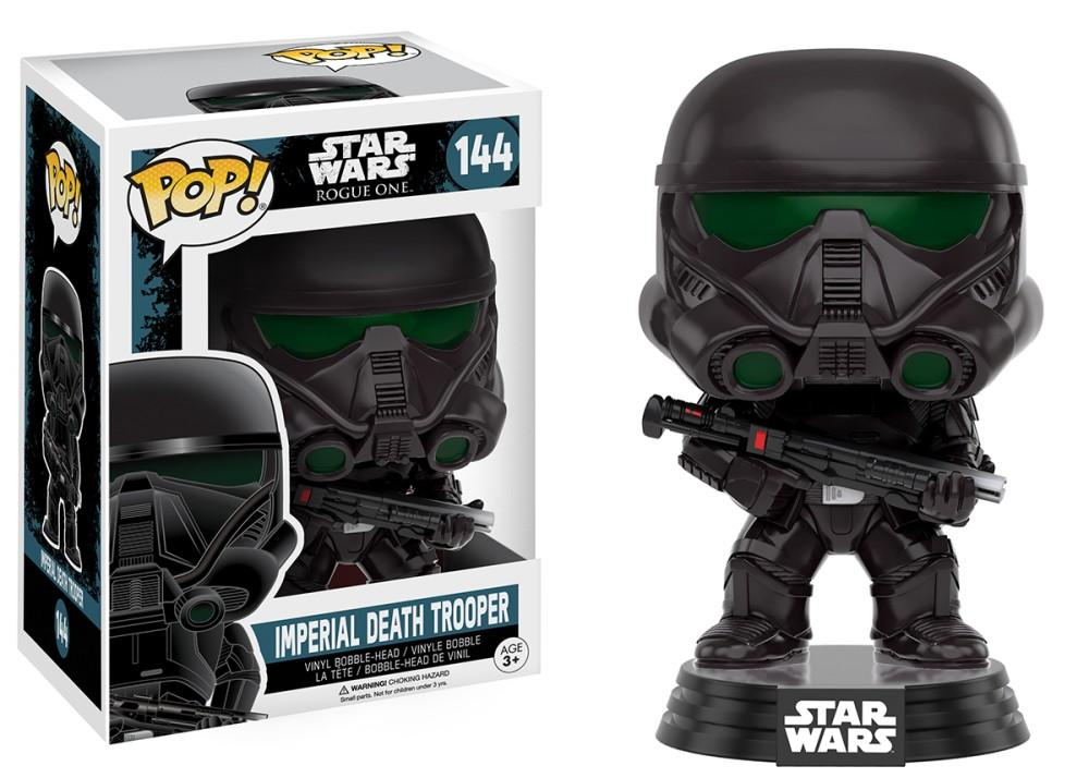 Funko Pop! Movies - Rogue One: A Star Wars Story #144 - Imperial Death Trooper - Simply Toys