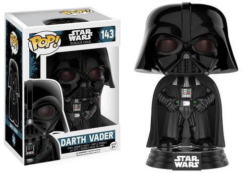 Funko Pop! Movies - Rogue One: A Star Wars Story #143 - Darth Vader - Simply Toys