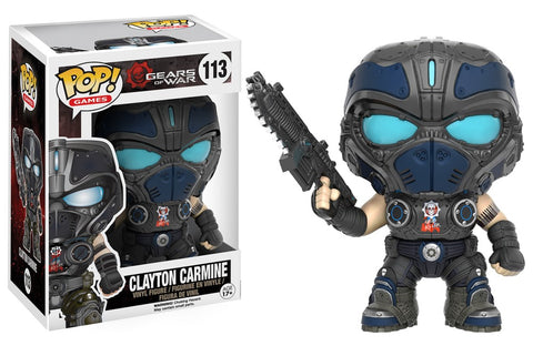 Funko Pop! Games - Gears of War #113 - Clayton Carmine - Simply Toys