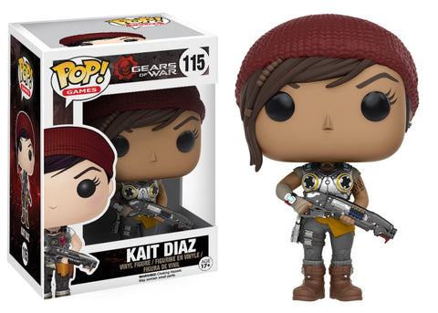Funko Pop! Games - Gears of War #115 - Kait Diaz - Simply Toys