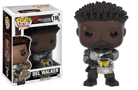 "Funko Pop! Games - Gears of War #116 - Delmont ""Del"" Walker - Simply Toys"