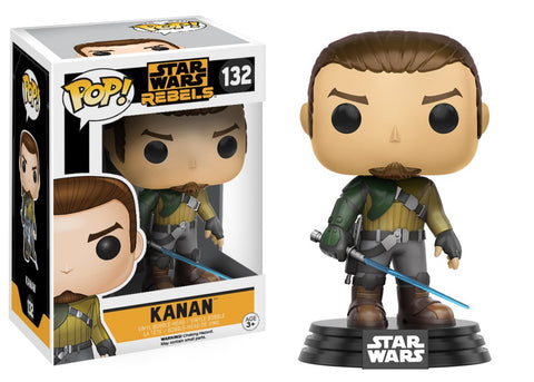 Funko Pop! Television - Star Wars Rebels #132 - Kanan Jarrus - Simply Toys