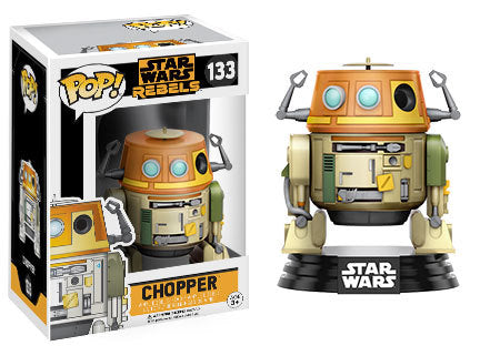 Funko Pop! Television - Star Wars Rebels #133 - Chopper - Simply Toys