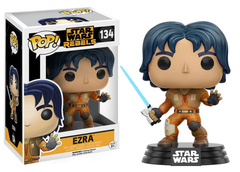Funko Pop! Television - Star Wars Rebels #134 - Ezra Bridger - Simply Toys