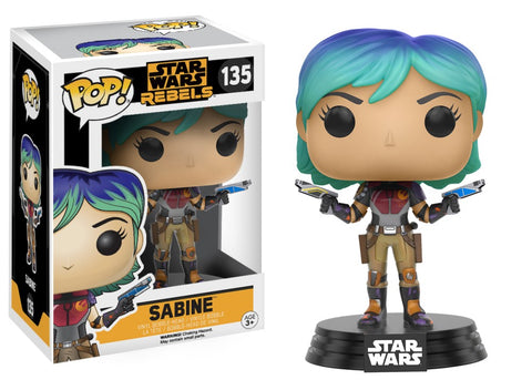 Funko Pop! Television - Star Wars Rebels #135 - Sabine - Simply Toys
