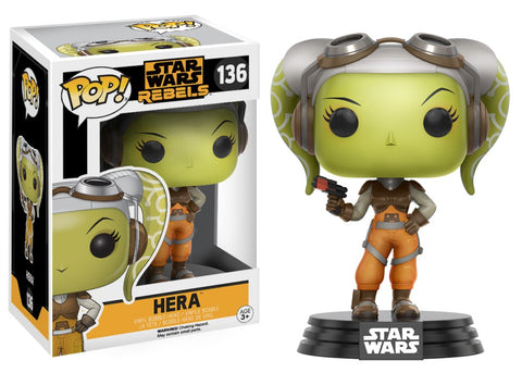 Funko Pop! Television - Star Wars Rebels #136 - Hera - Simply Toys