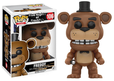 Funko Pop! Games - Five Nights at Freddy's #106 - Freddy Fazbear - Simply Toys