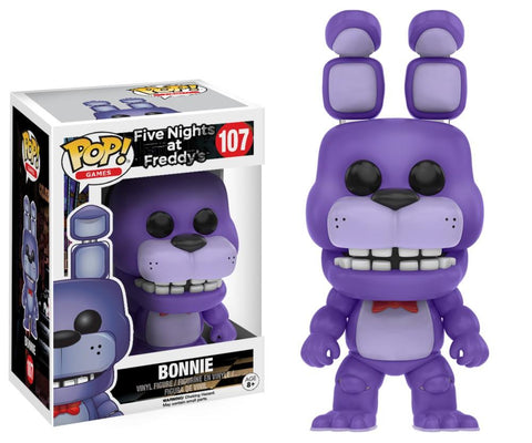Funko Pop! Games - Five Nights at Freddy's #107 - Bonnie - Simply Toys