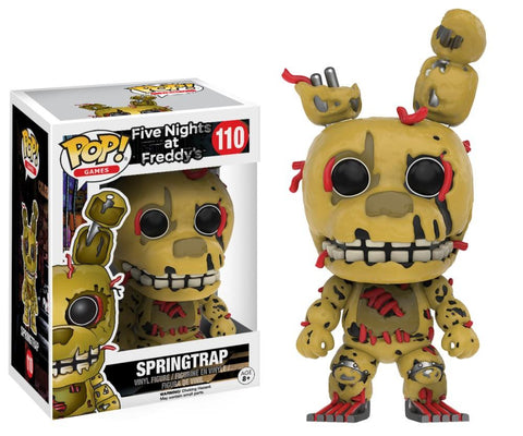 Funko Pop! Games - Five Nights at Freddy's #110 - Springtrap - Simply Toys