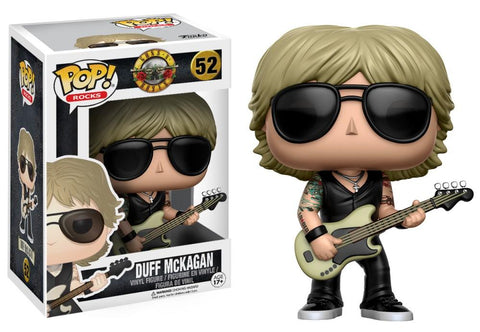 Funko Pop! Rocks - Guns N' Roses #52 - Duff McKagan - Simply Toys