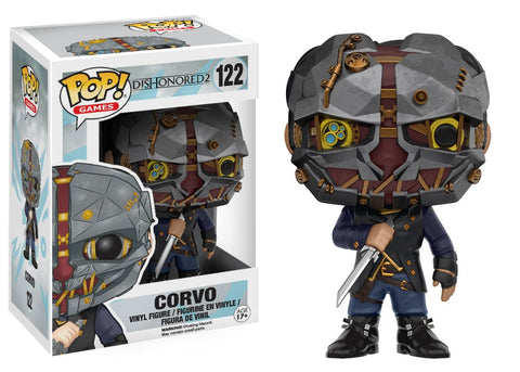 Funko Pop! Games - Dishonored 2 #122 - Corvo - Simply Toys