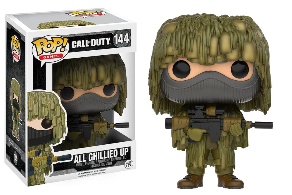 Funko Pop! Games - Call of Duty #144 - All Ghillied Up - Simply Toys