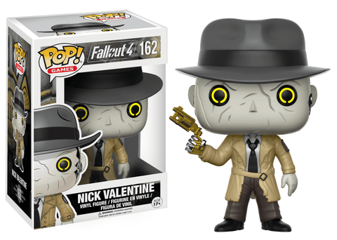 Funko Pop! Games - Fallout 4 #162 - Nick Valentine - Simply Toys
